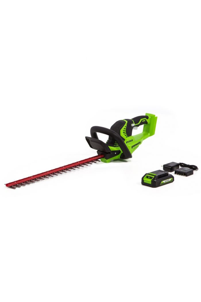"24H20 24-Volt 22"" Hedge Trimmer (with Battery and Charger)"