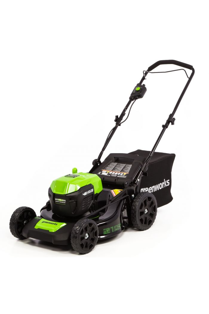 """48PM21 48V/24V 21"""" Dual-Volt Push Lawn Mower (with Battery and Charger)"""