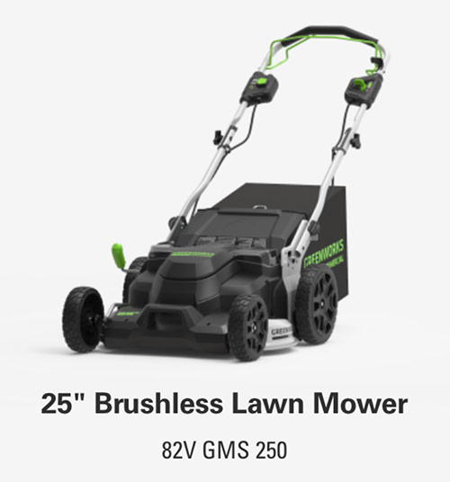 25-Inch Brushless Lawn Mower | Greenworks Commercial
