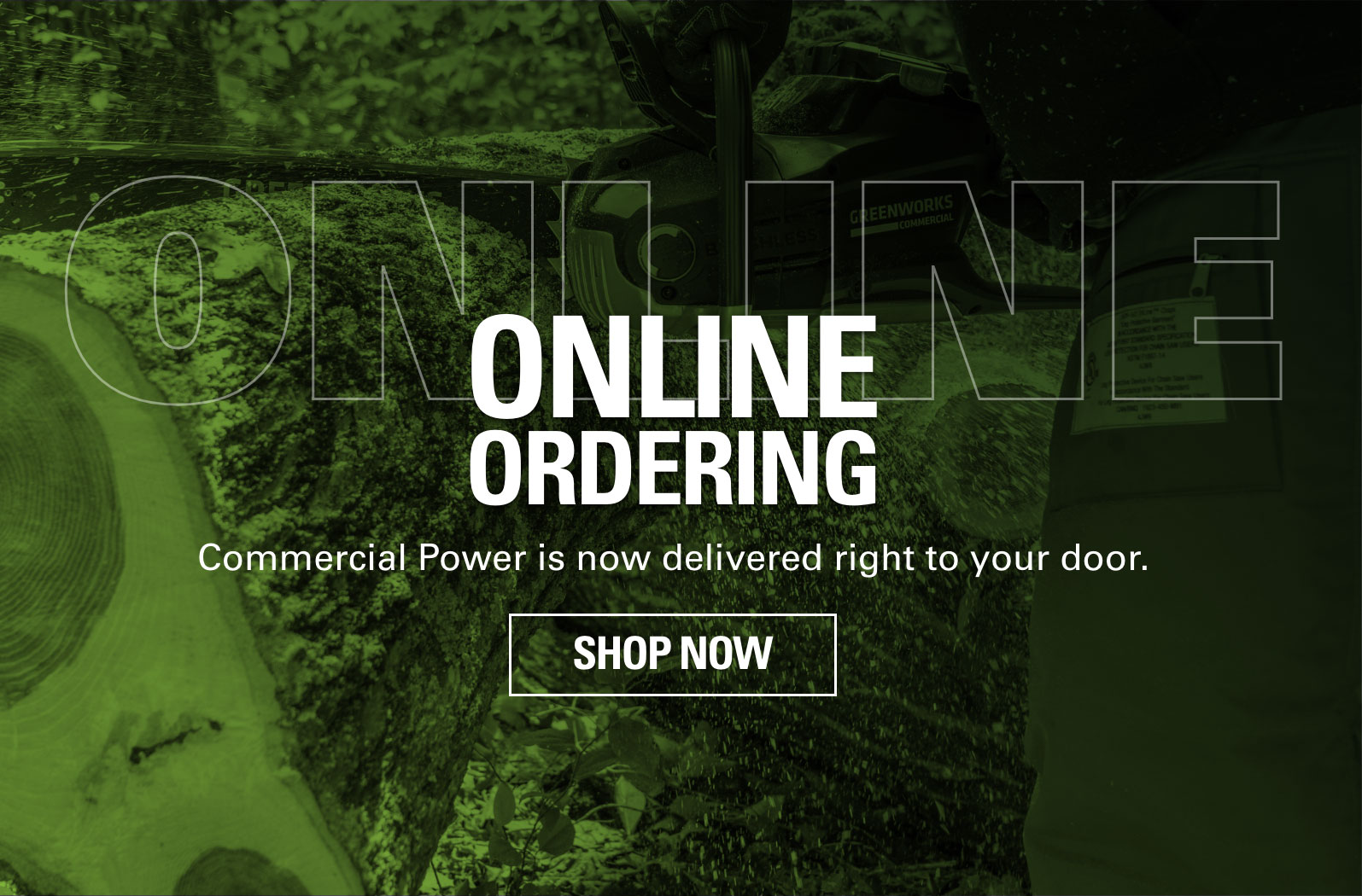 Shop Now | Greenworks Commercial