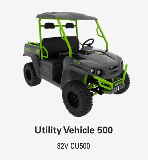 82V Utility Vehicle 500 | Greenworks Commercial