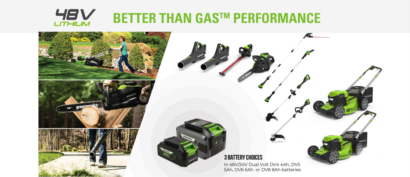 Better Than Gas Performance | Greenworks Commercial