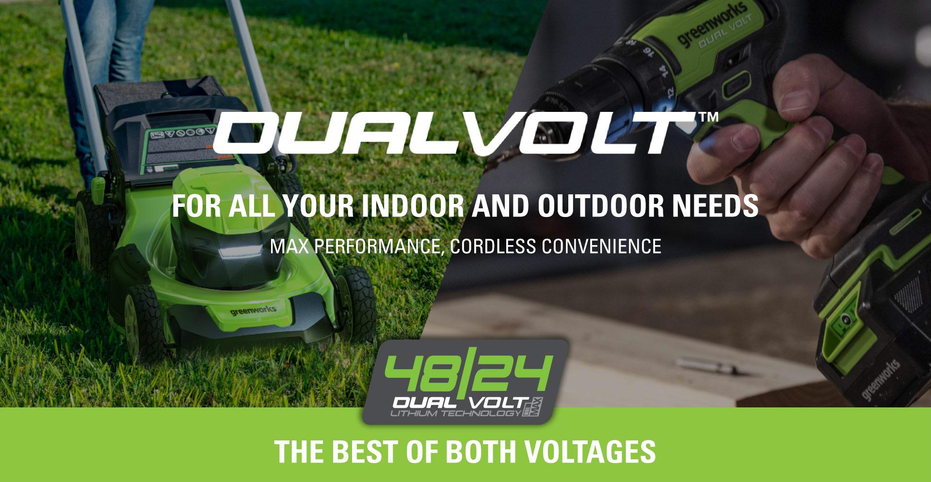 48/24V DUALVOLT | Greenworks Commercial