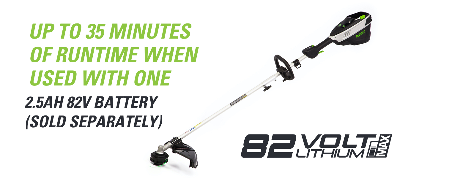 82V 16-Inch String Trimmer | Greenworks Commercial