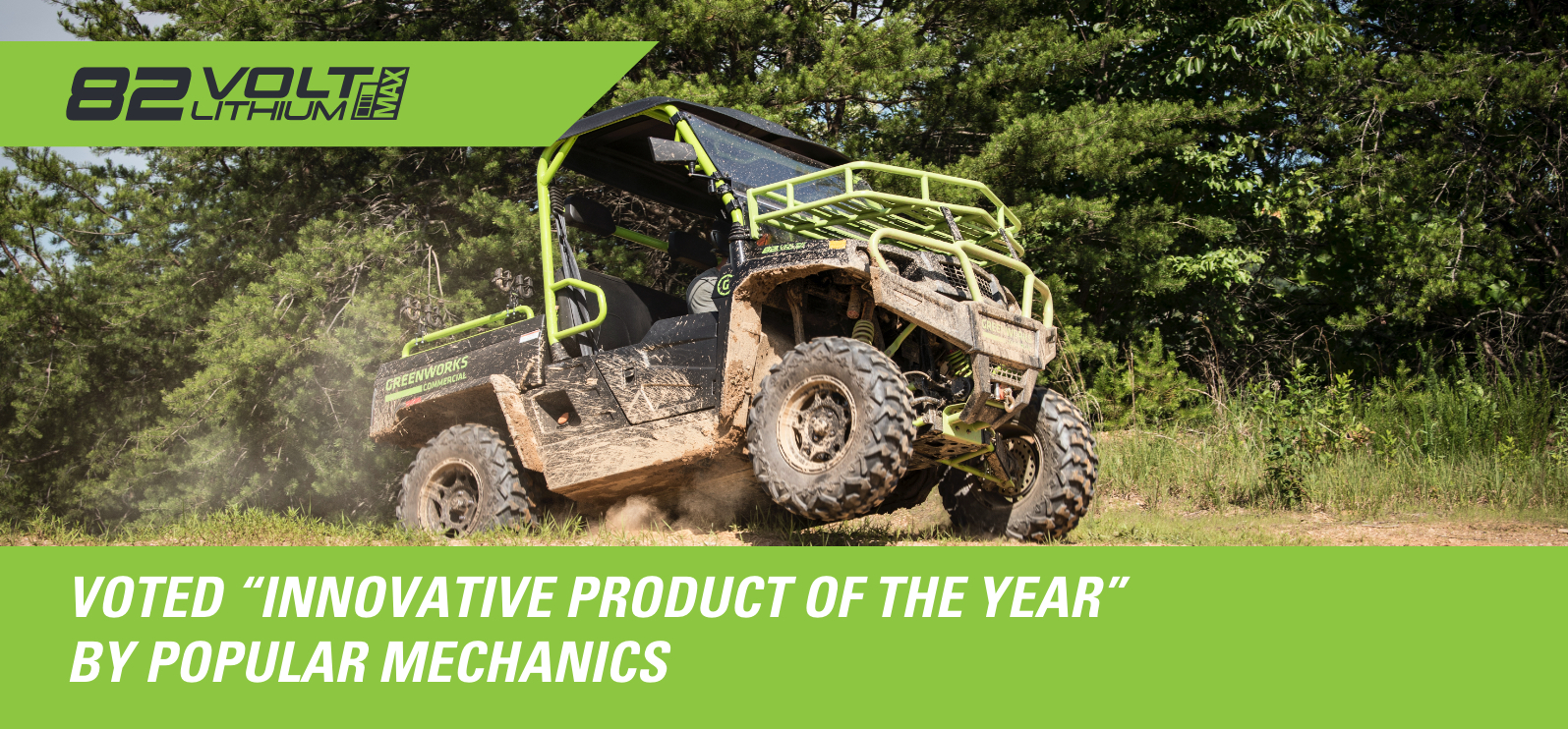 82V Utility Vehicle 800 | Greenworks Commercial